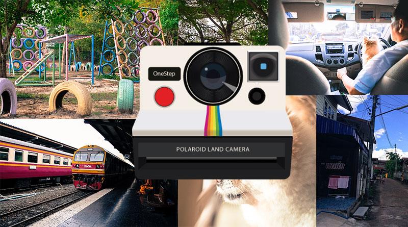 """วิธีแต่งภาพเป็นโทน """"กล้องโพลารอยด์"""" ด้วยแอพ Lightroom แบบง่ายๆ"""