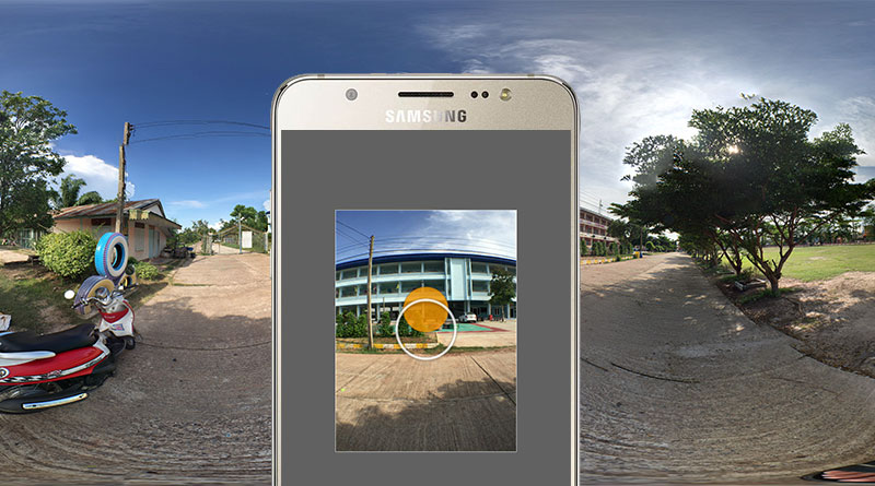 วิธีถ่ายภาพ 360 องศา ด้วยแอพ Google Street View + วิธีอัพรูปขึ้น Facebook