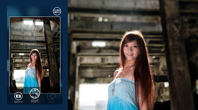 FabFocus สุดยอดแอพ ที่ทำให้ iPhone ถ่ายภาพหน้าชัดหลังเบลอได้