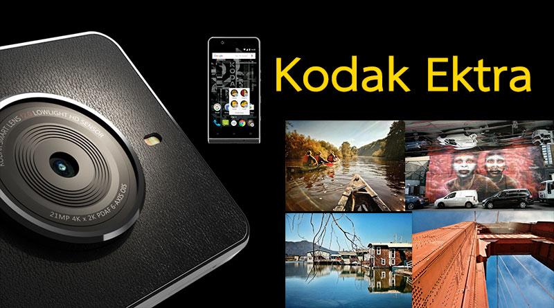 สเปคและตัวภาพถ่ายของ Kodak Ektra สมาร์ทโฟนที่เน้นการถ่ายภาพ