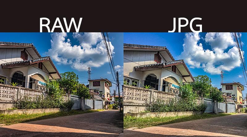 เปรียบเทียบ JPG และ RAW ที่ถ่ายจากกล้อง iPad Pro และแต่งด้วย Lightroom