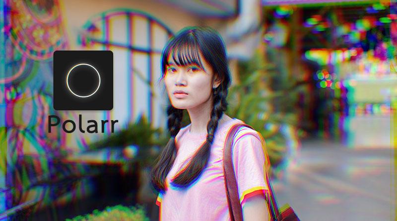 วิธีแต่งรูปเป็นภาพซ้อนแบบ 3D ด้วยแอพ Polarr #ฟรี