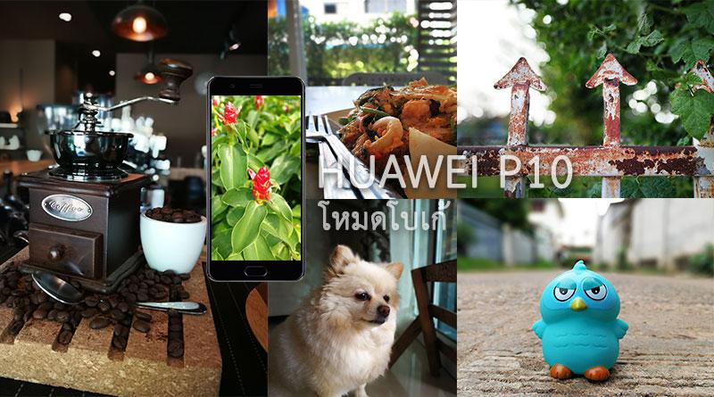 รีวิว ถ่ายรูปโหมดโบเก้ ด้วยกล้องมือถือ Huawei P10