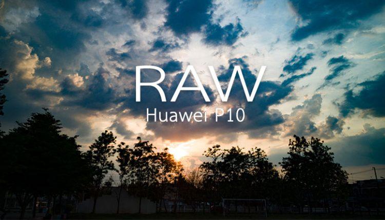 ทดสอบแต่งรูปไฟล์ RAW จากกล้องมือถือ Huawei P10